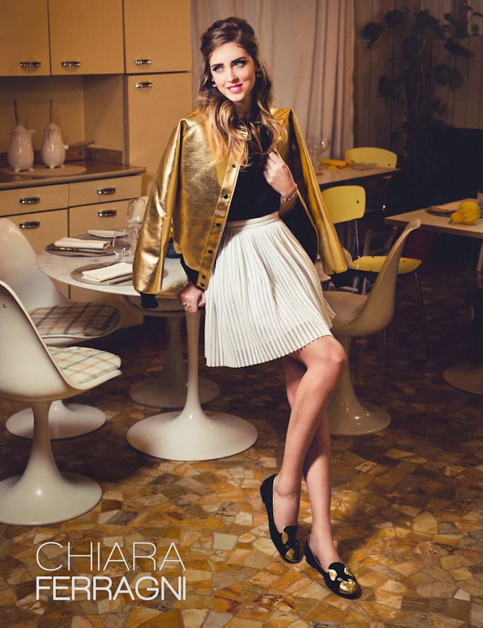 Chiara Ferragni fashion campaign