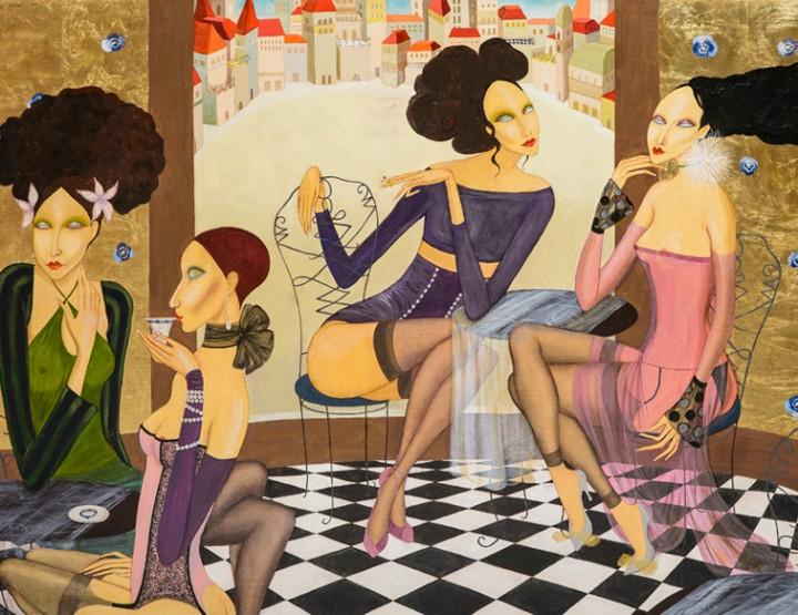 MILKA VUJOVIĆ: Slikarstvo kao hedonizam