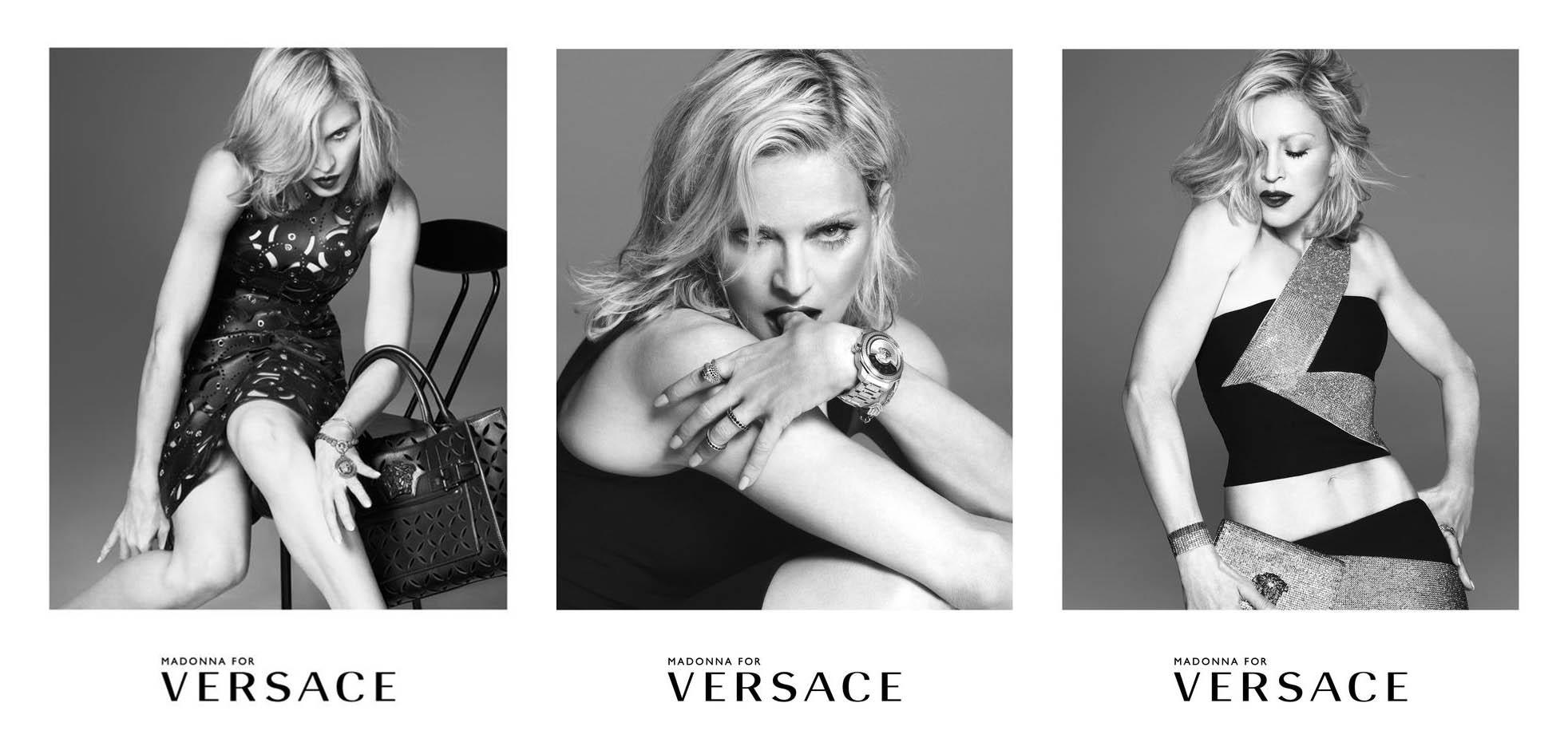 Madonna u kampanji za Versace 2015