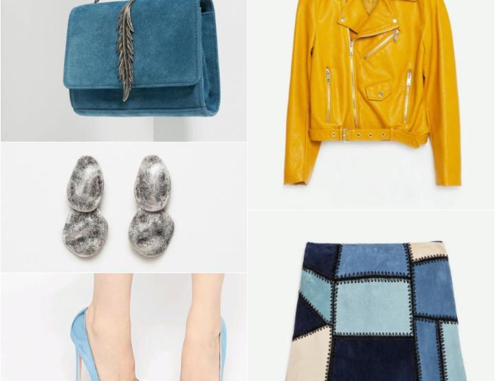 #ootd u kombinaciji plave i žute