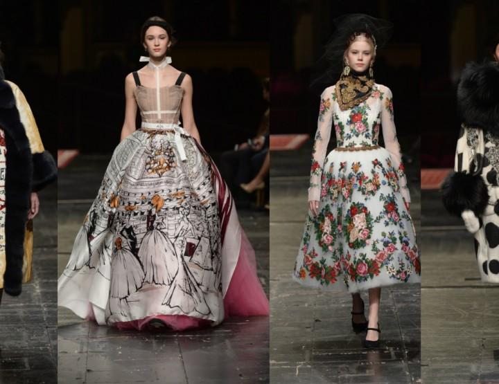 Dolce&Gabbana raskoš na milanskoj pozornici