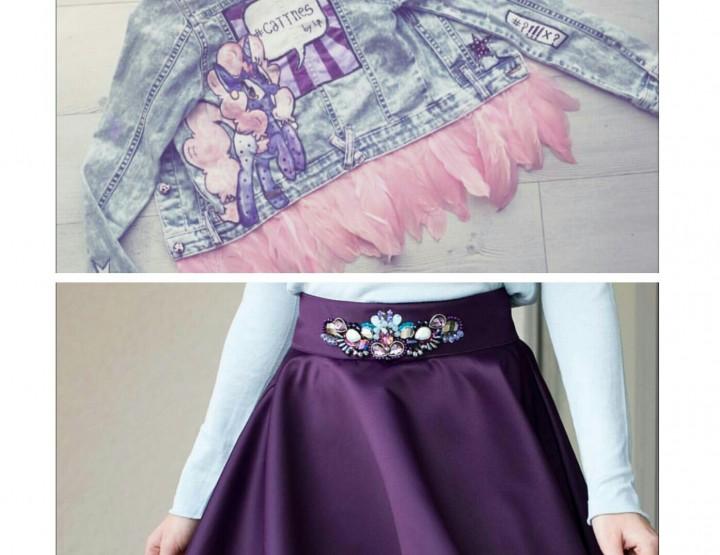 KOMBINACIJA MJESECA: Cattnes jakna + Di Valgoni suknja