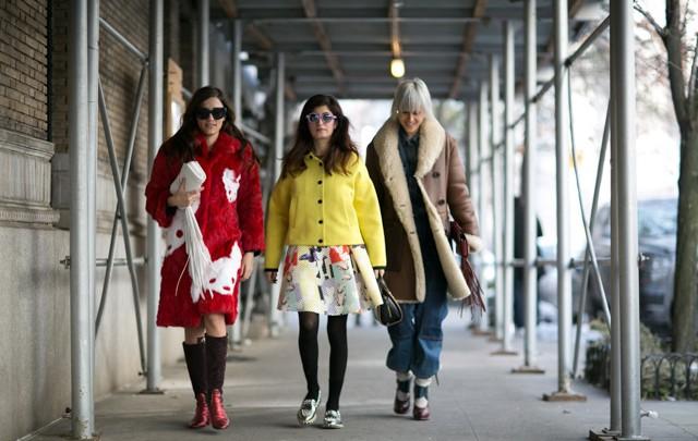 New York is always a good idea: eklektični modni izraz sa ulica Velike Jabuke!