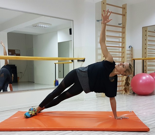 Vježbe za oblikovanje bočnih mišića by Džo