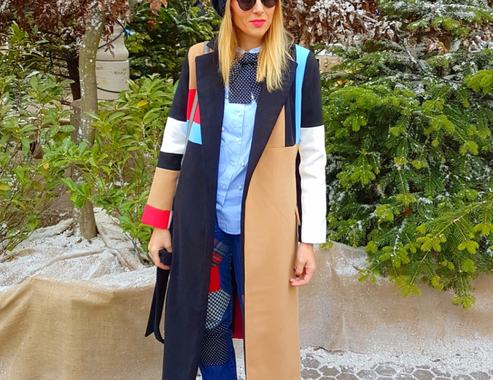 Patchwork streetstyle by Inga!