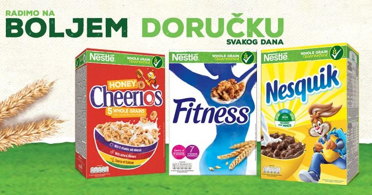 Nestlé žitarice od cijelog zrna za bolji doručak