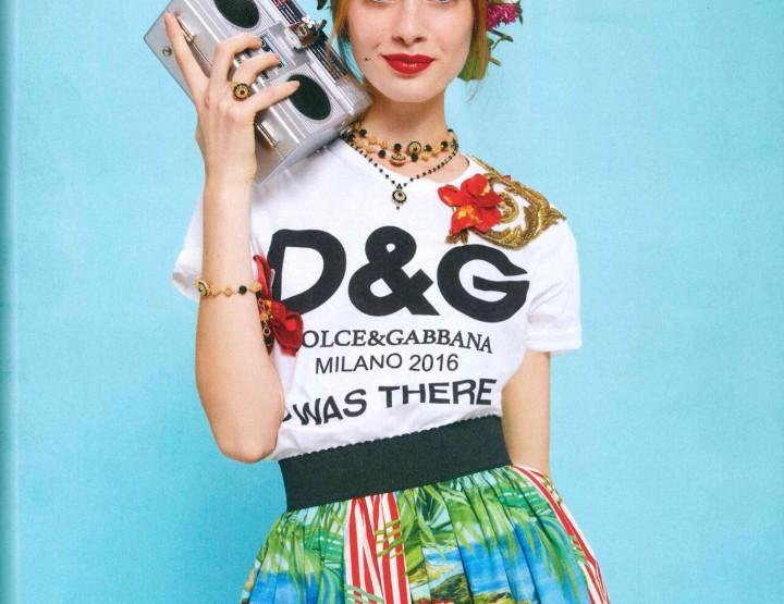 ARTIKAL MJESECA: Radio Bag by Dolce & Gabbana