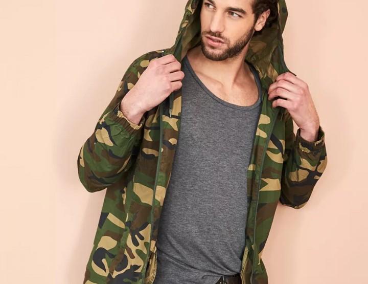 Camouflage #OOTD za Njega