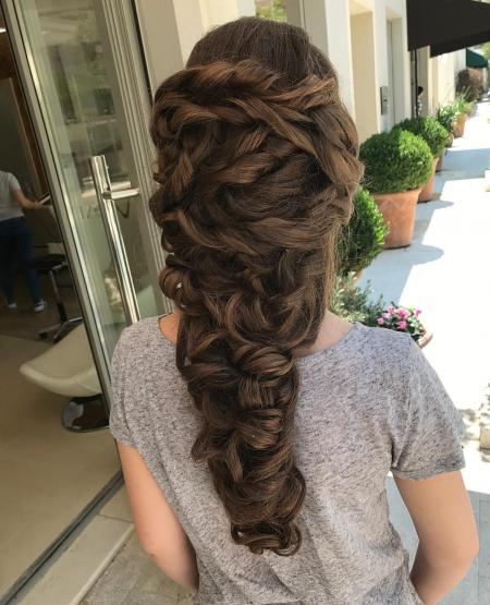 HAIR DESIGN SUGGESTION: Boho pletenica