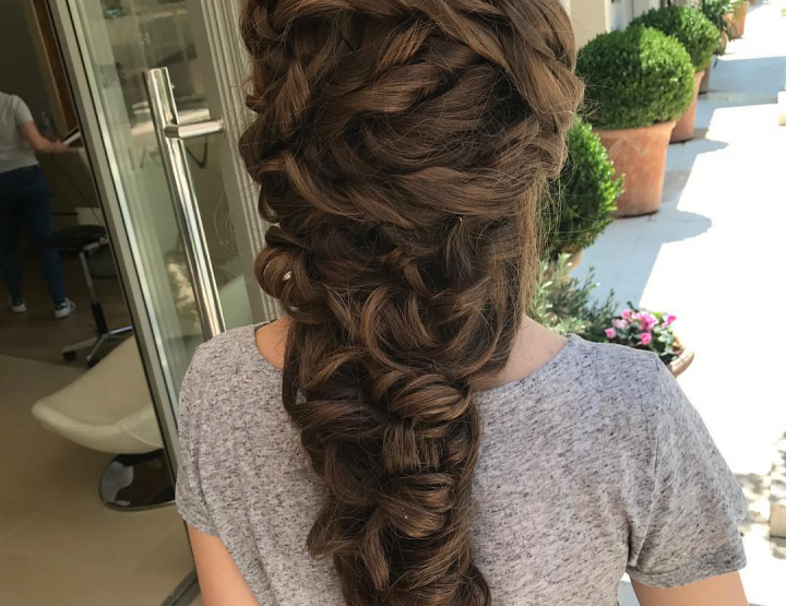 HAIR DESIGN SUGGESTION: Boho pletenica