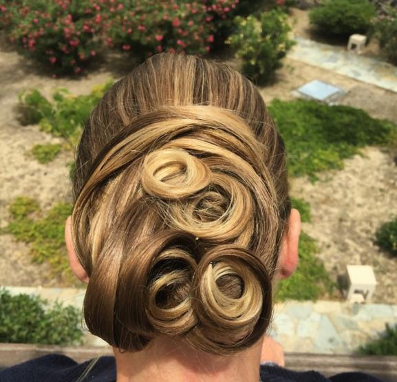 HAIR DESIGN SUGGESTION: Puž punđa