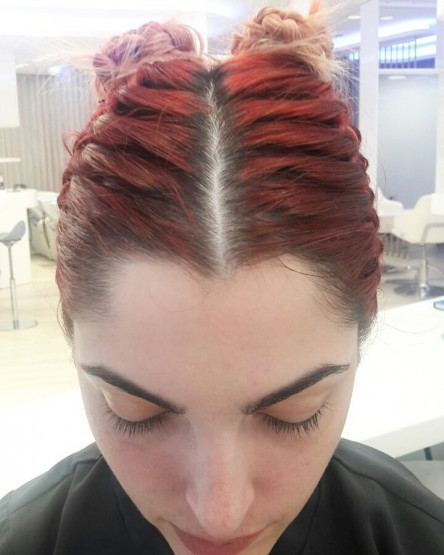 HAIR DESIGN SUGGESTION: Punđice na vrhu glave