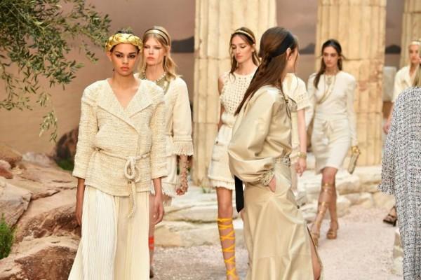 Mitovi i legende antičke Grčke u Chanel Resort 2018 kolekciji