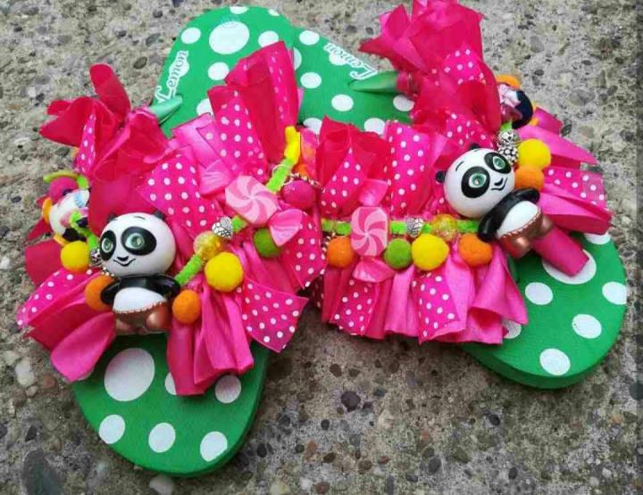 DETALJ MJESECA: Ukrašene papuče by Linabags