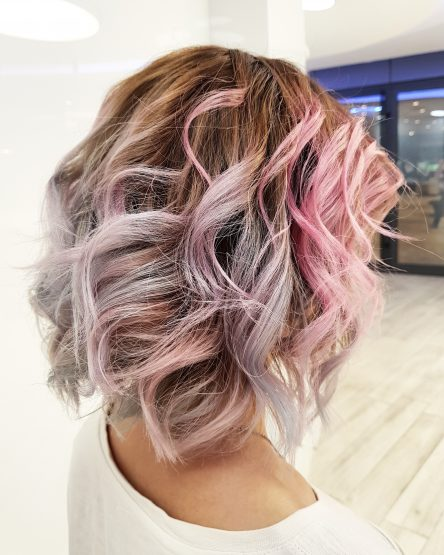 HAIR DESIGN SUGGESTION: Pastelne boje u kosi
