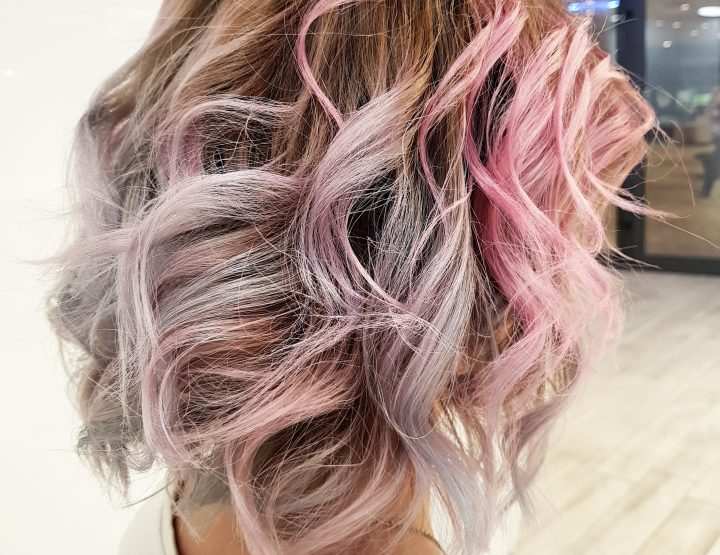 HAIR DESIGN SUGGESTION: Pastelne boje u kosi
