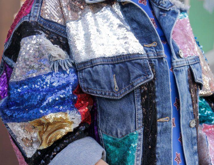 ARTIKAL MJESECA: Teksas jakna Unikat B by MC Stojan