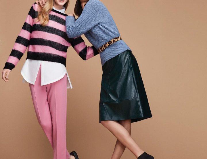 Pastel knitwear #OOTD