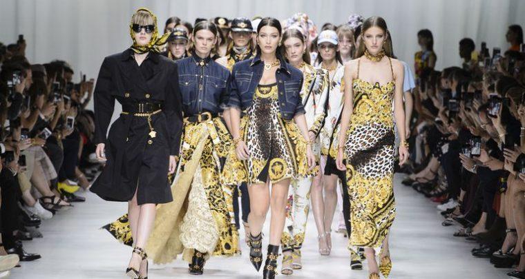 Prepoznatljivi Versace stil u kolekciji proljeće/ljeto 2018!