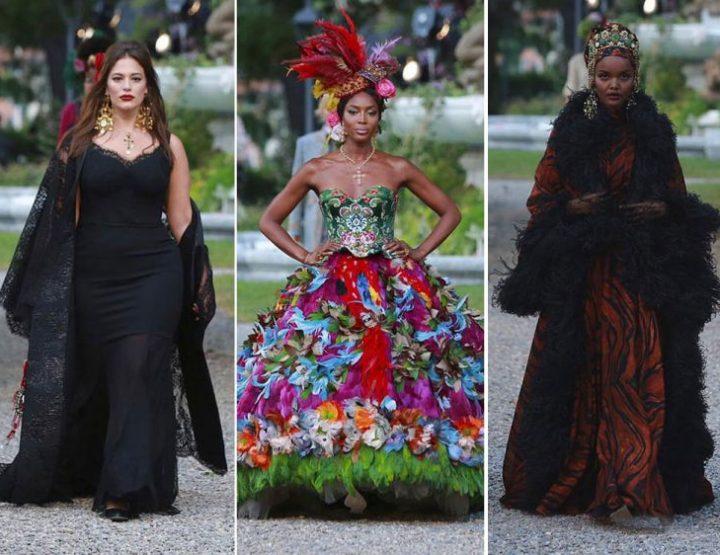 Dolce Gabbana Alta Moda: nevjerovatna kolekcija prikazana na jezeru Como!