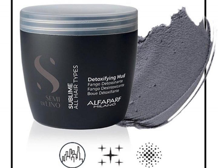 Alfaparf Detoxifying Mud: tretman blatom za detoksifikaciju kose