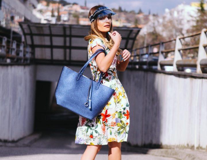 Kako nositi cvjetnu haljinu?
