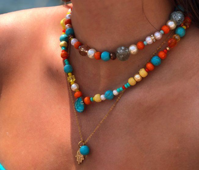 Šarene ogrlice za dobro raspoloženje!